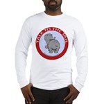 Hippo Talk To The Tail Long Sleeve T-Shirt