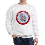 Hippo Talk To The Tail Sweatshirt