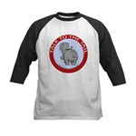 Hippo Talk To The Tail Kids Baseball Jersey