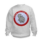 Hippo Talk To The Tail Kids Sweatshirt