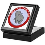 Hippo Talk To The Tail Keepsake Box