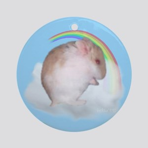 HDArts02 Keepsake Hamster Ornament (Round)