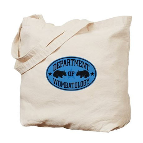 Department of Wombatology Blue Tote Bag