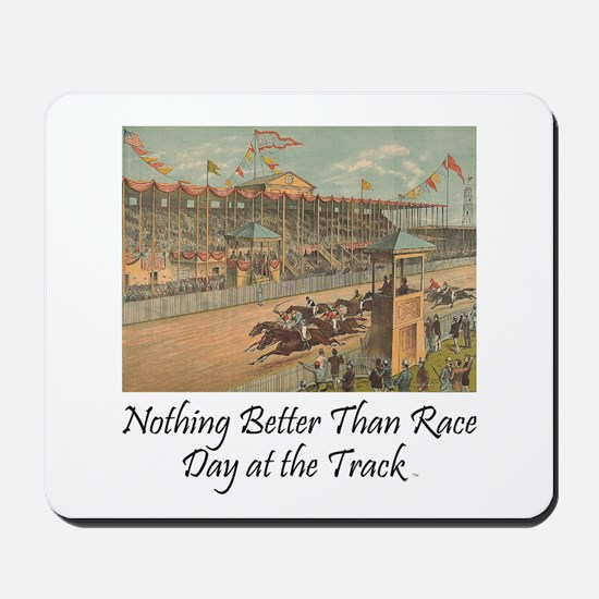TOP Horse Racing Mousepad
