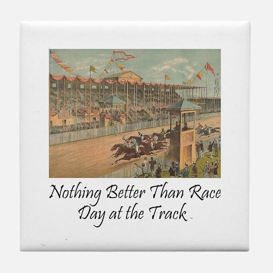 TOP Horse Racing Tile Coaster