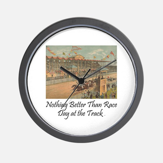 TOP Horse Racing Wall Clock