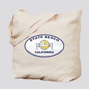 State Beach Tote Bag2