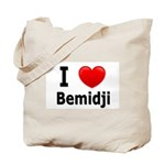 I Love Bemidji Tote Bag