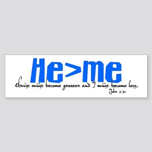 He>me Bumper Sticker
