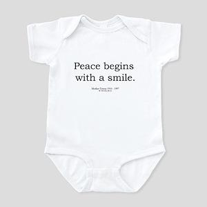 Mother Teresa 5 Infant Bodysuit