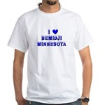 I Love Bemidji Winter White T-Shirt