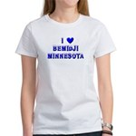 I Love Bemidji Winter Women's T-Shirt