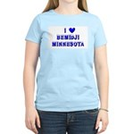 I Love Bemidji Winter Women's Light T-Shirt