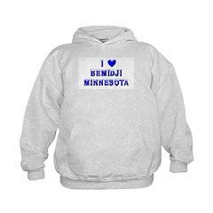 I Love Bemidji Winter Hoodie