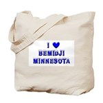 I Love Bemidji Winter Tote Bag