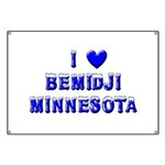I Love Bemidji Winter Banner