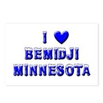 I Love Bemidji Winter Postcards (Package of 8)