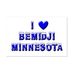 I Love Bemidji Winter Mini Poster Print