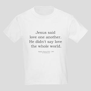 Mother Teresa 6 Kids Light T-Shirt