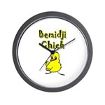 Bemidji Chick Wall Clock