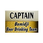 Bemidji Beer Drinking Team Rectangle Magnet (10 pa