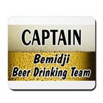 Bemidji Beer Drinking Team Mousepad