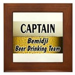 Bemidji Beer Drinking Team Framed Tile