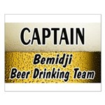 Bemidji Beer Drinking Team Small Poster