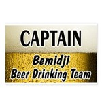 Bemidji Beer Drinking Team Postcards (Package of 8