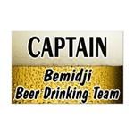 Bemidji Beer Drinking Team Mini Poster Print