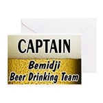 Bemidji Beer Drinking Team Greeting Card