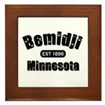 Bemidji Established 1896 Framed Tile