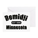 Bemidji Established 1896 Greeting Card