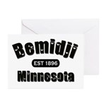 Bemidji Established 1896 Greeting Cards (Pk of 10)