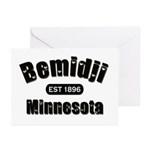 Bemidji Established 1896 Greeting Cards (Pk of 20)