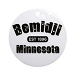 Bemidji Established 1896 Ornament (Round)