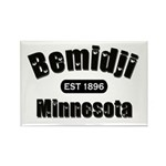 Bemidji Established 1896 Rectangle Magnet (10 pack