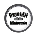 Bemidji Established 1896 Wall Clock