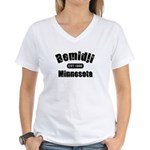 Bemidji Established 1896 Women's V-Neck T-Shirt