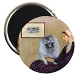 Mom's Keeshond (F) Magnet