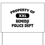 Property of Bemidji Police Dept Yard Sign