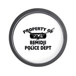 Property of Bemidji Police Dept Wall Clock