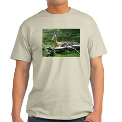 Grant's Gazelle Ash Grey T-Shirt