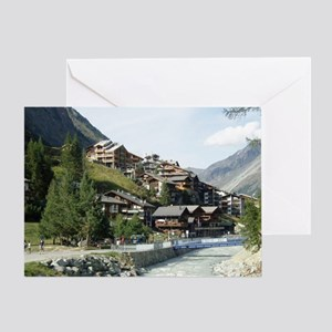 Zermatt Switzerland Greeting Card