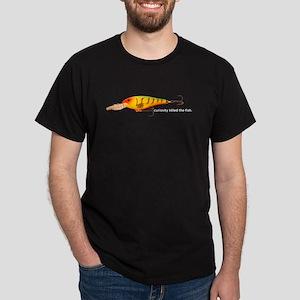 Curiosity Killed The Fish Dark T-Shirt