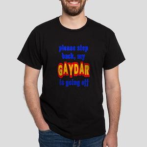 Gaydar Step Back Dark T-Shirt