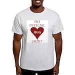 the Official Hug Ash Grey T-Shirt