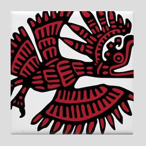 Ancient Bird Tile Coaster