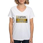 Brainerd Beer Drinking Team Women's V-Neck T-Shirt