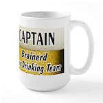 Brainerd Beer Drinking Team Large Mug